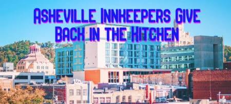 Asheville city skyline on a sunny day